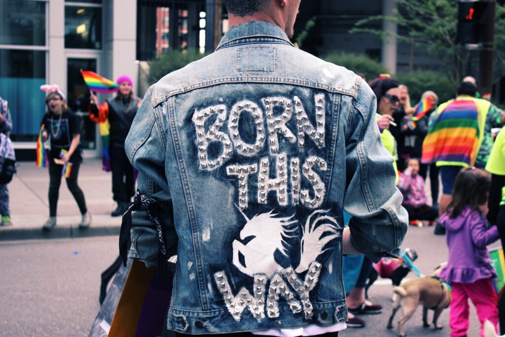pride, born this way, unique, weird
